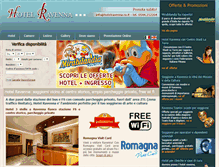 Tablet Preview of hotelravenna.ra.it